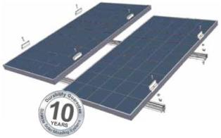Schletter Solar Mounting and Raking