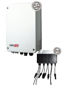 SolarEdge Compact 2kW Basic with M2640 Optimiser